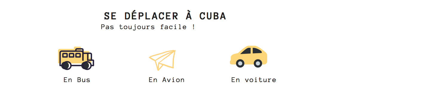 les transports à Cuba