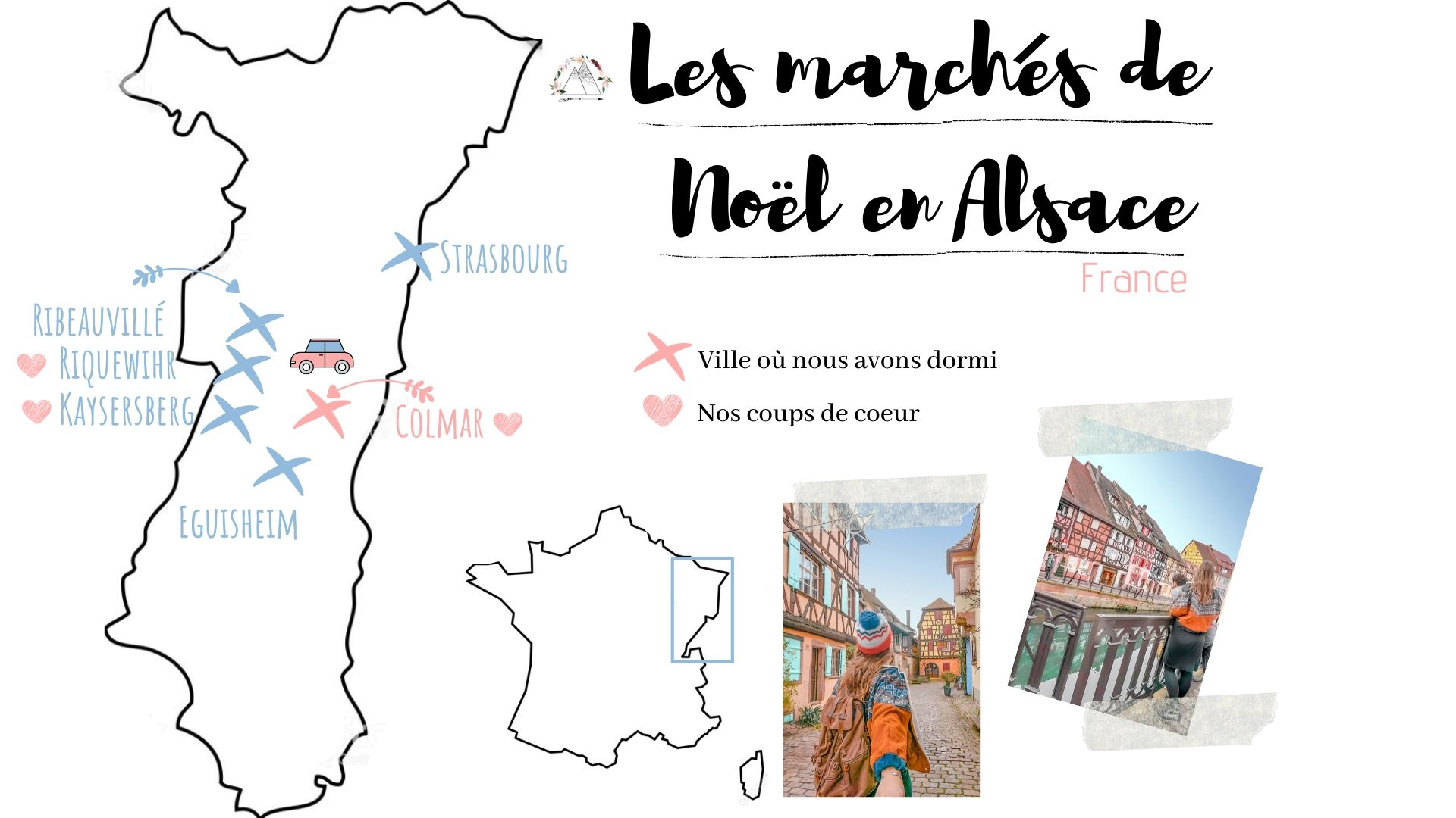 itinéraire week_end alsace marché noel