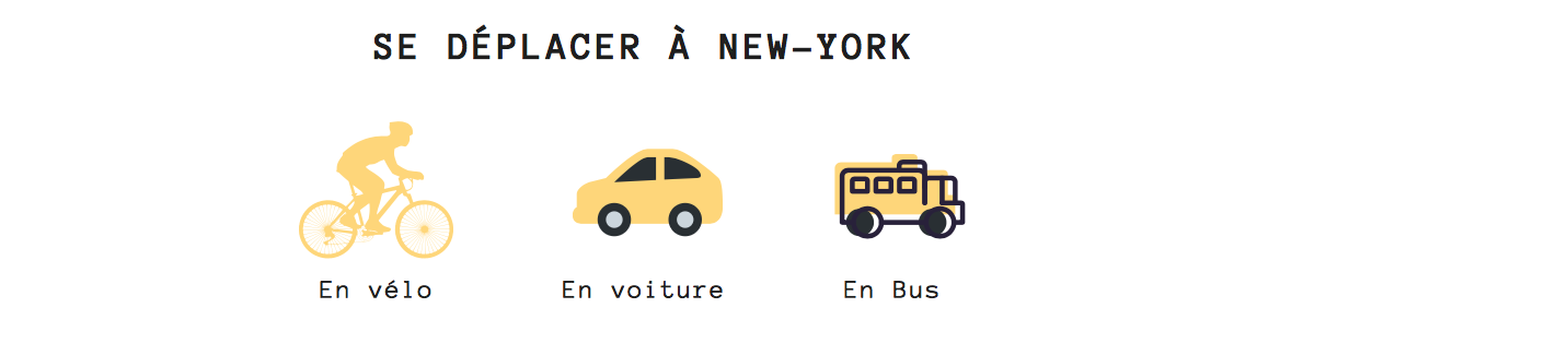 comment se déplacer transports New york