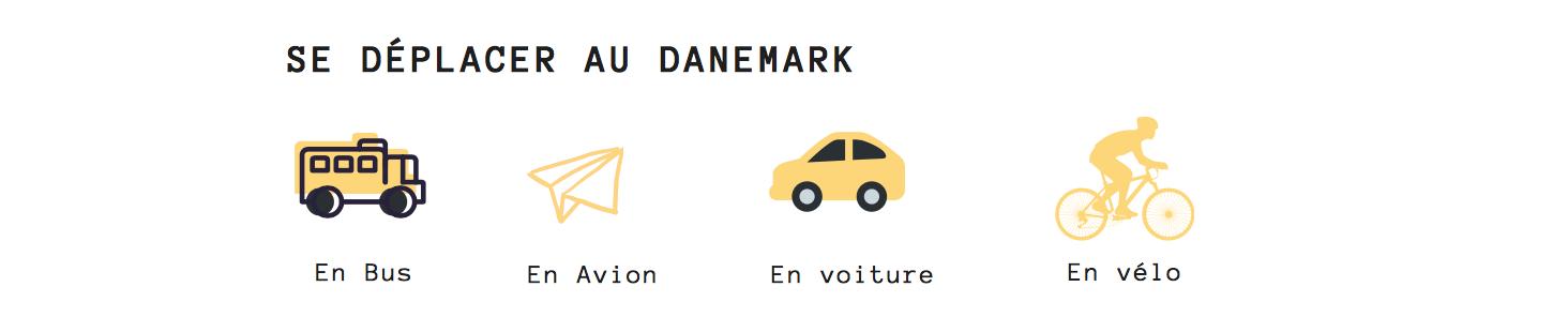 se déplacer au danemark