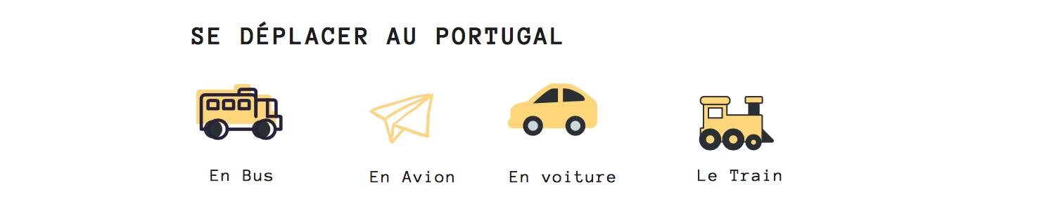 transport portugal comment se déplacer