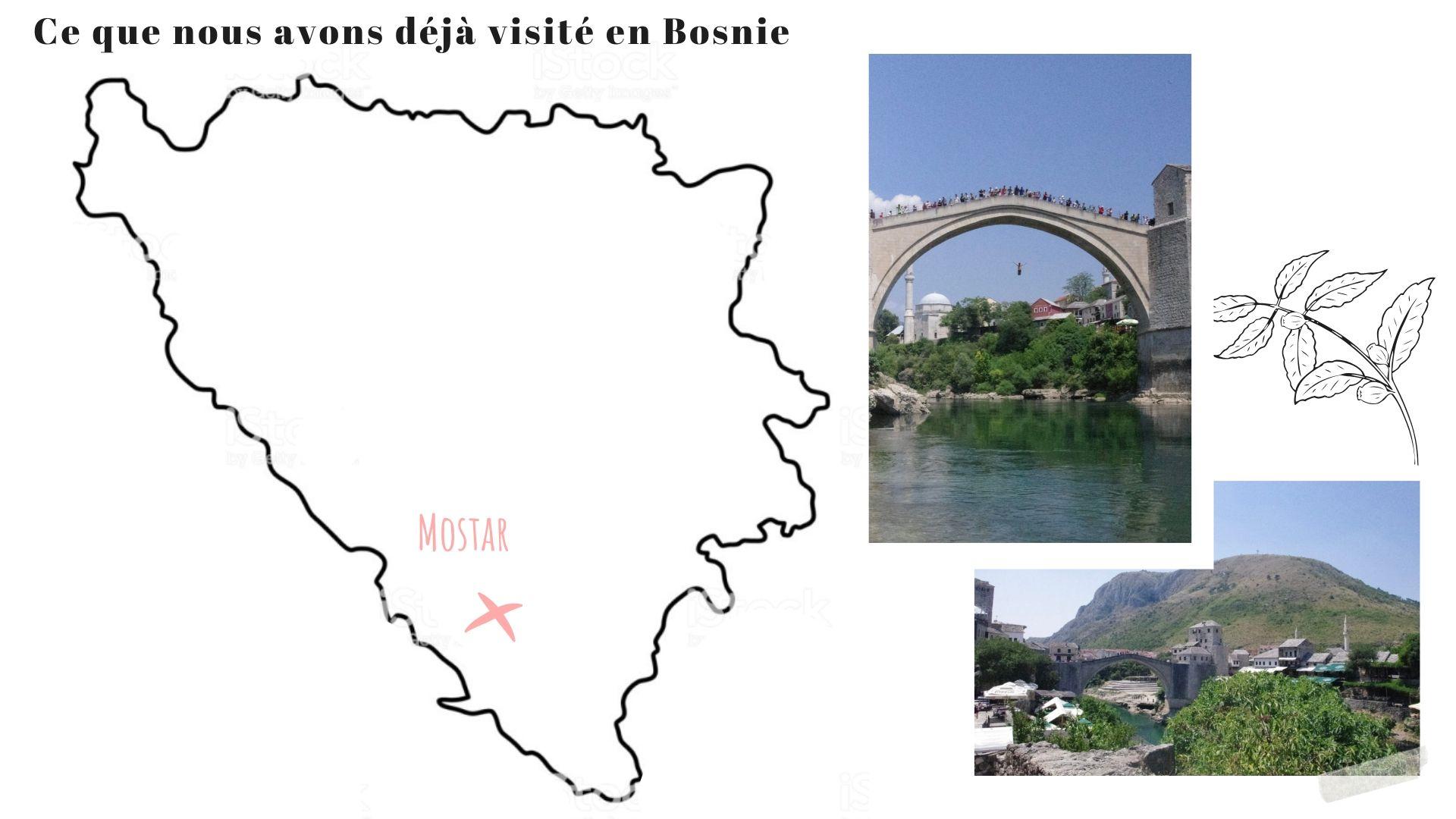 ville à visiter bosnie