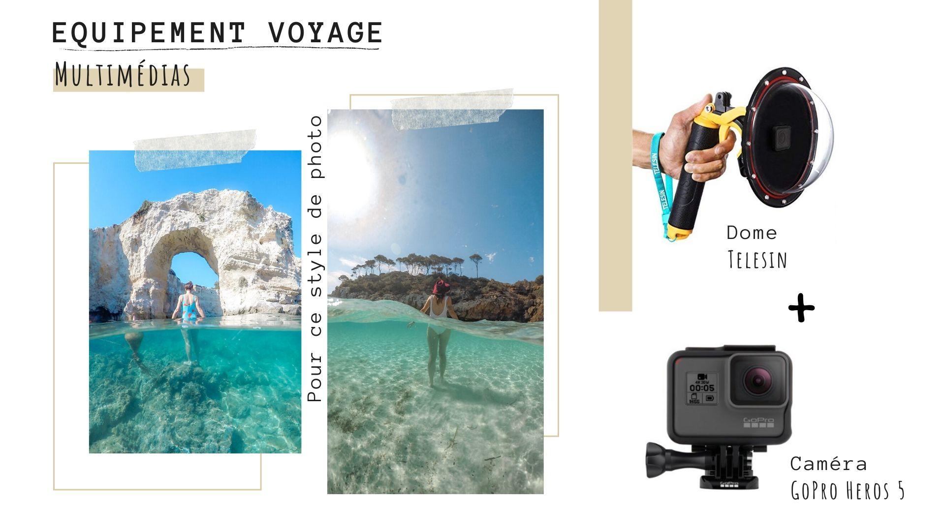 equipement video en voyage