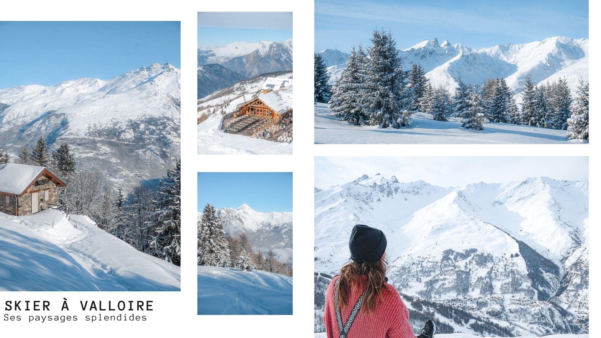 skier alpes station village familiale savoie