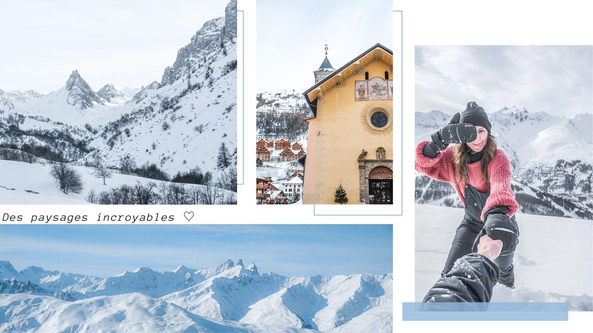 valloire station de ski savoie