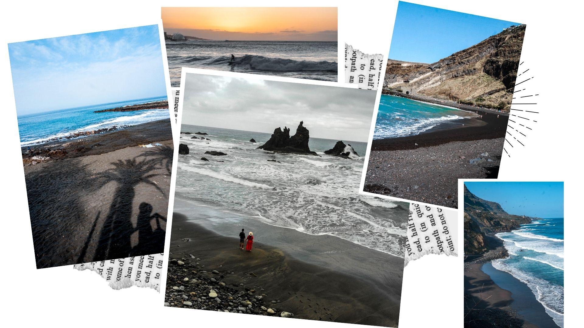 les plus belles plages de sable noir ténérife