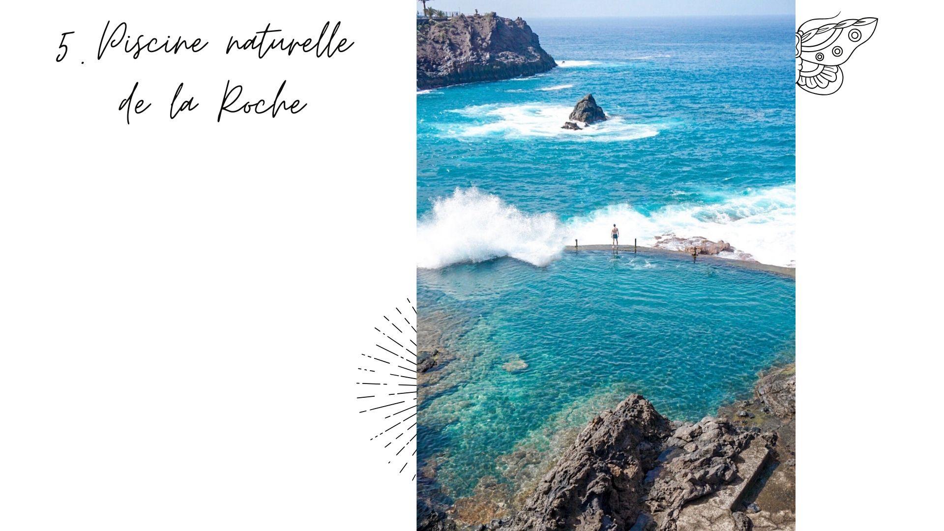 piscine naturelle de la roche tenerife