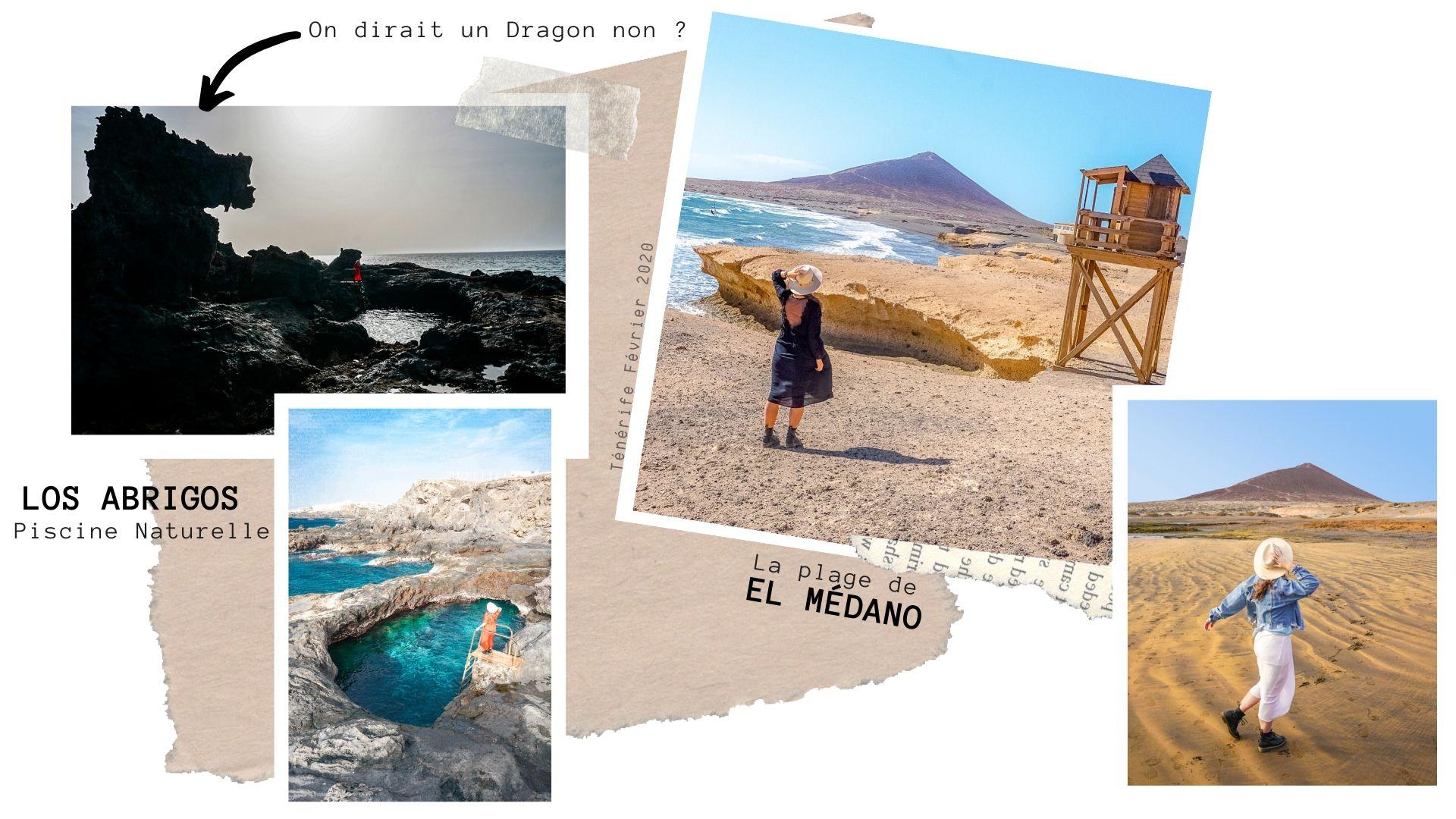 road trip Ténérife visiter El médano