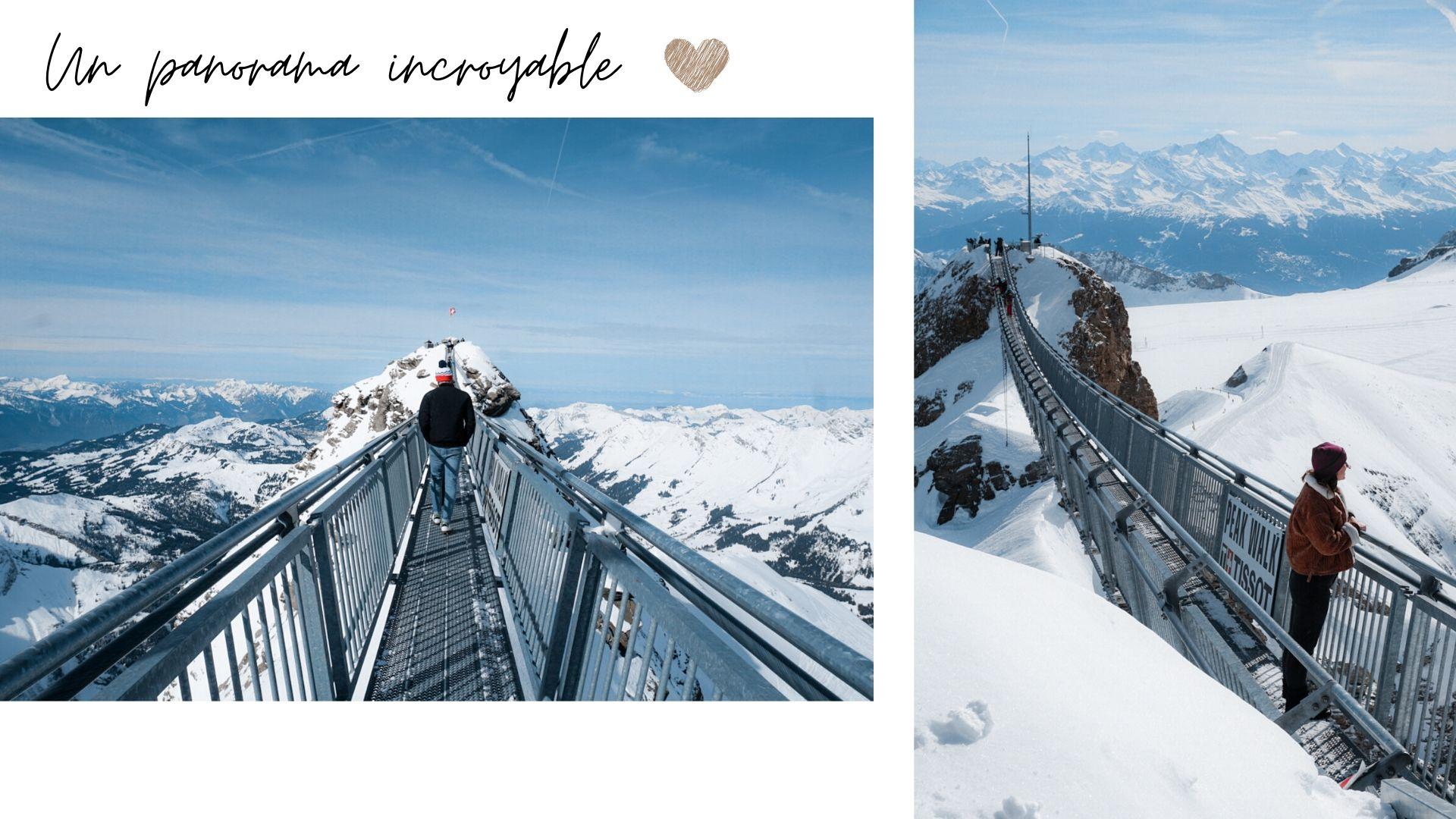 comment aller au peak walk suisse