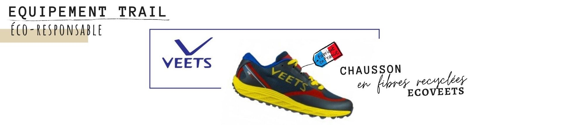 chaussures de trail made in france veets