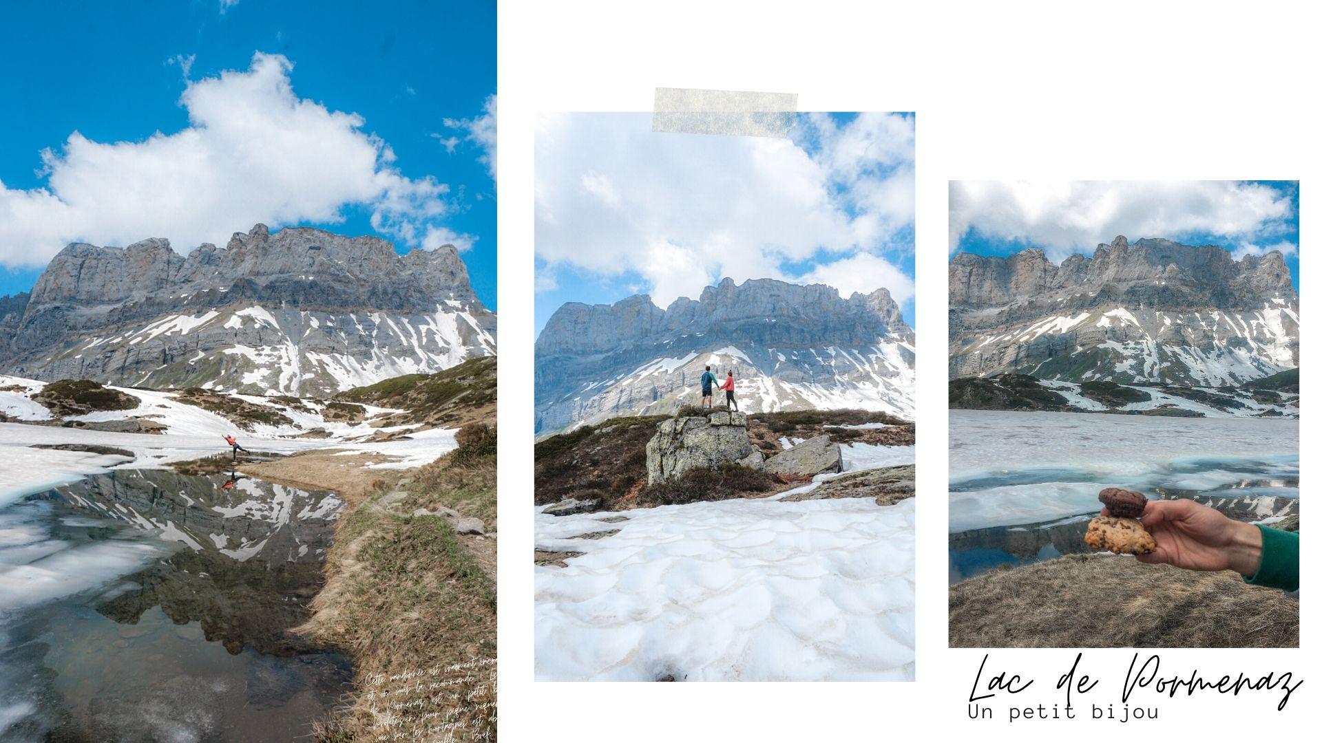 lac de pormenaz randonnée