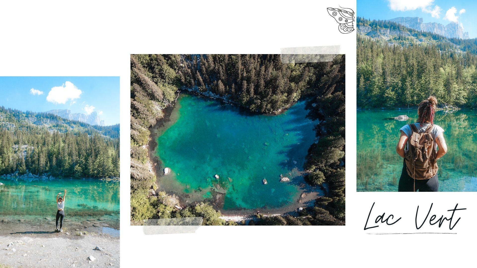 lac vert passy départ randonnée