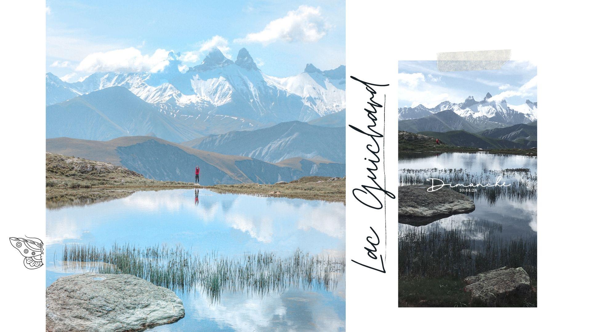 randonnée lac guichard saint sorlin