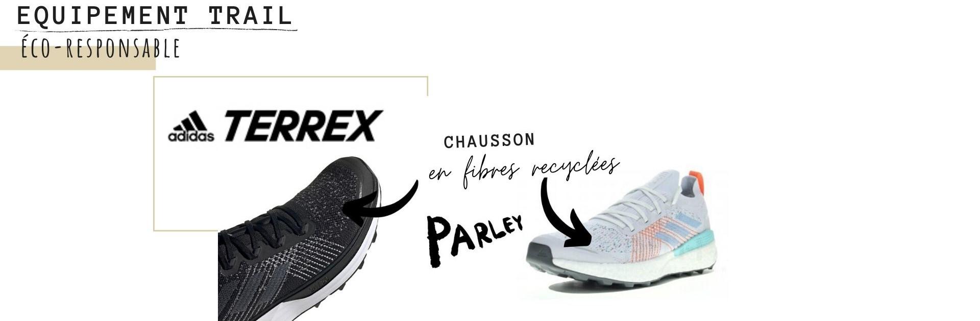 chaussure trail écoresponsable adidas