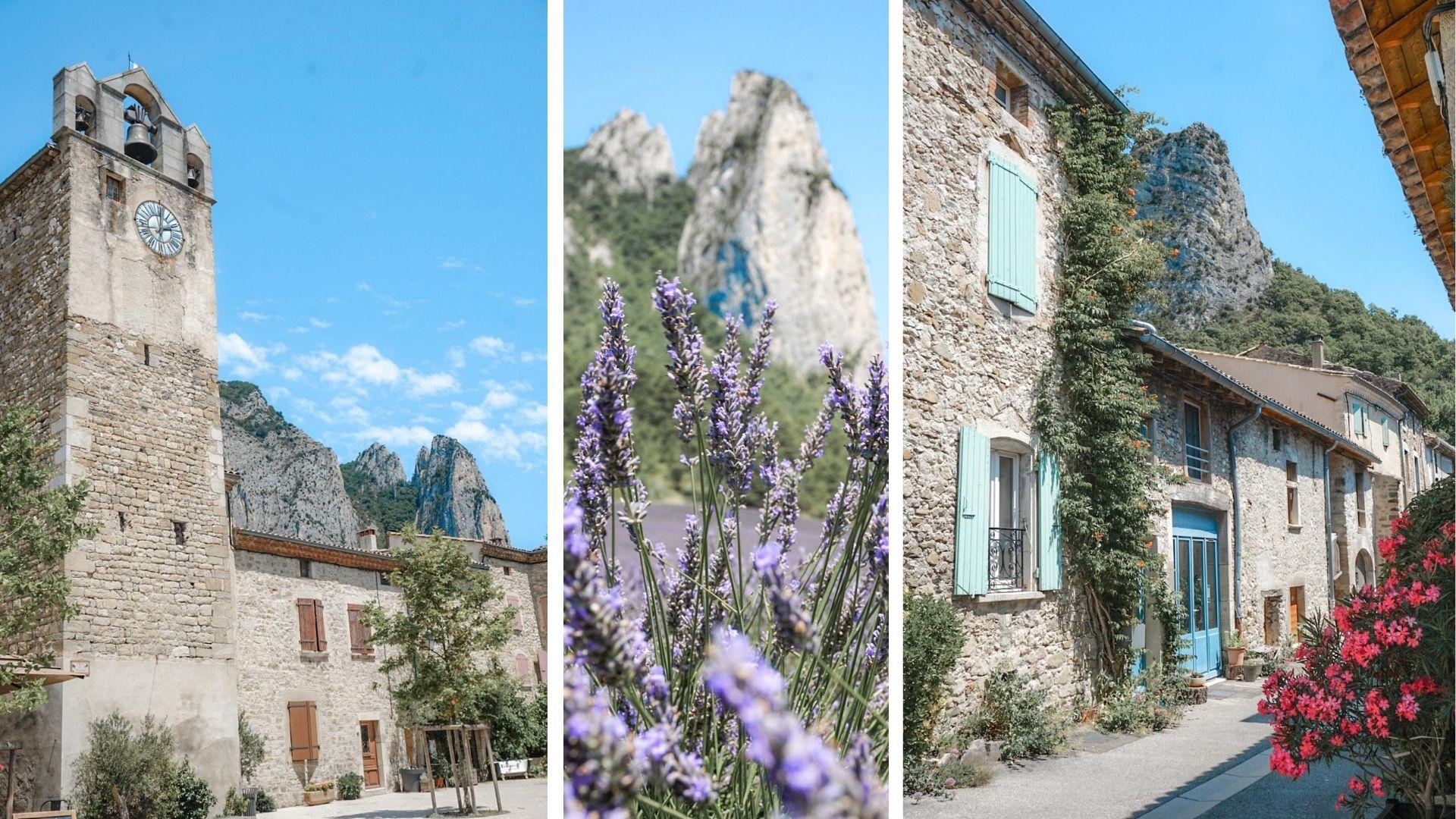 plus beau village drome provencale saou