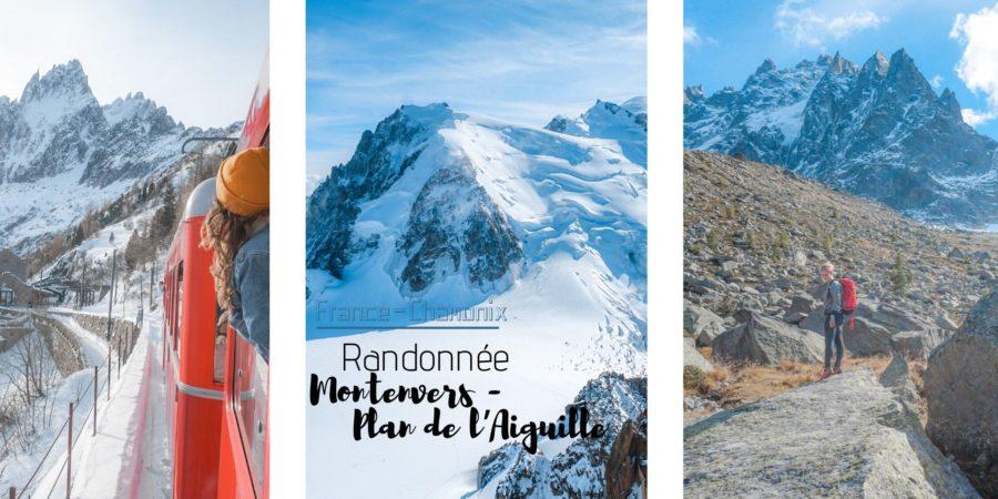 randonnée Chamonix montenvers plan de l'aiguille