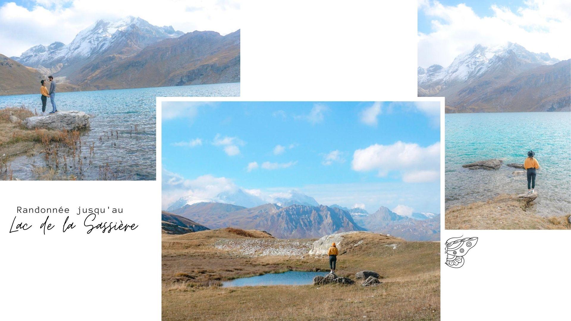 randonnée lac de la sassiere