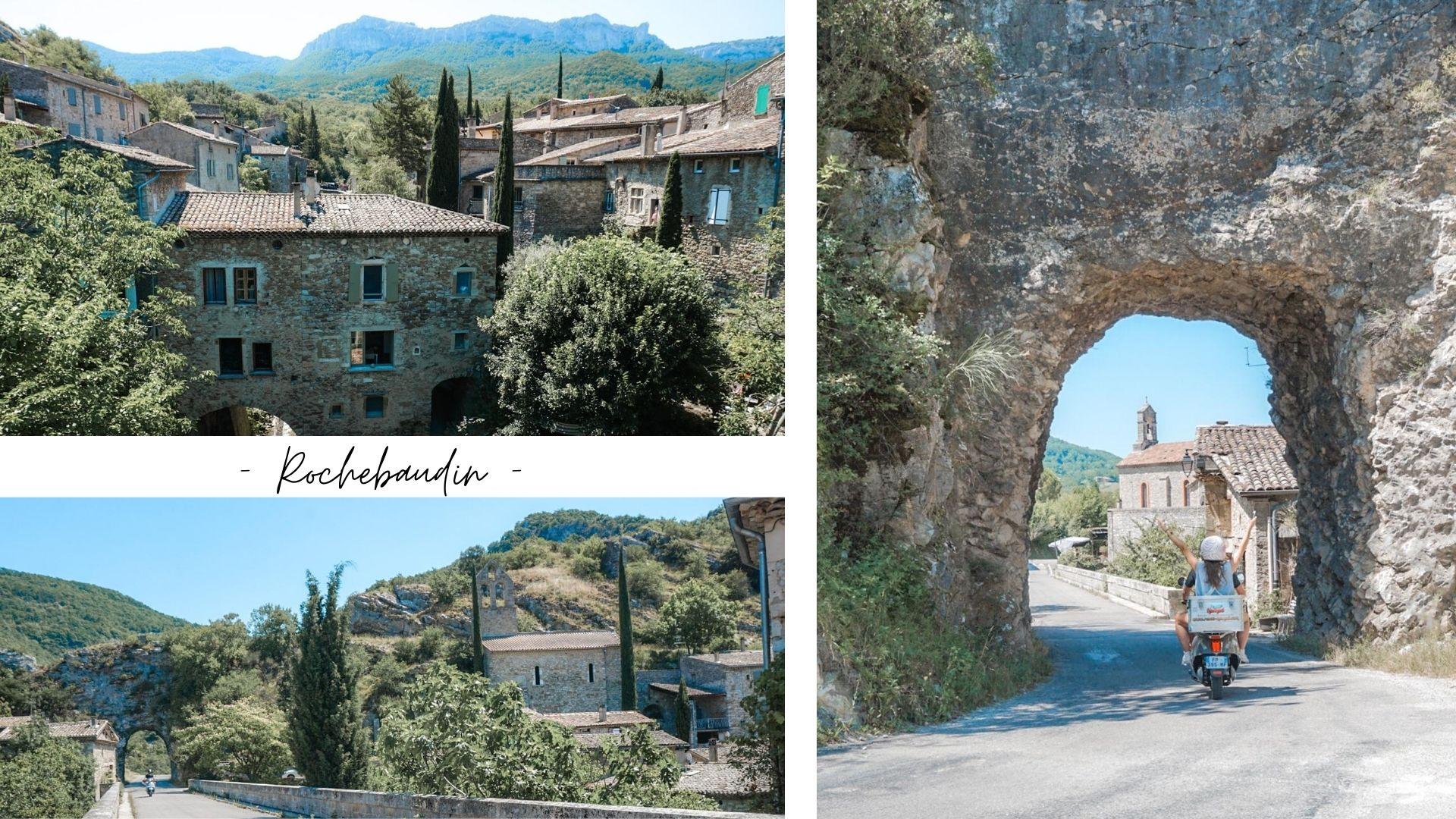rochebaudin village drome provencale