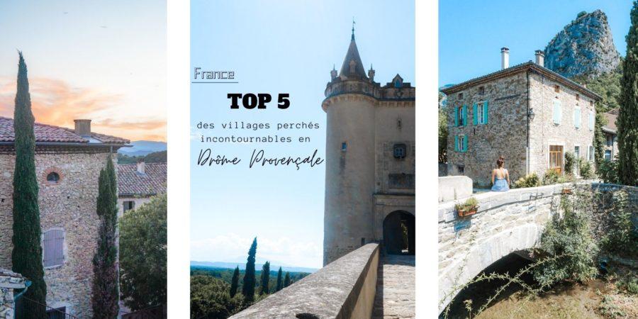 villages perchés à visiter drome provençale