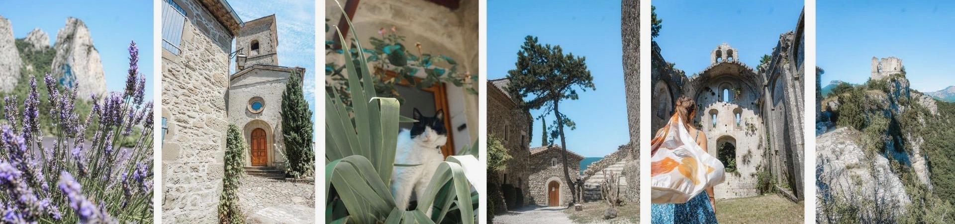 plus beaux villages drome provençales